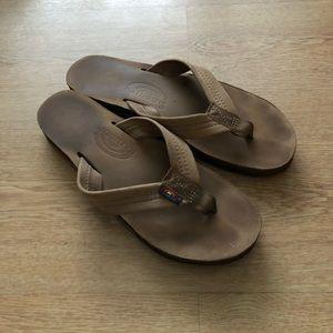Rainbow Double Layer Premium Sandals